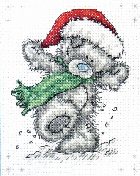 Me To You Tatty Teddy Snowy Days Cross Stitch Kit